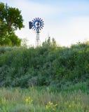 Moinho de vento vertical Fotografia de Stock Royalty Free
