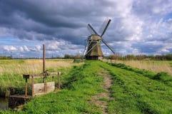 Moinho de vento Wedelfeld Foto de Stock