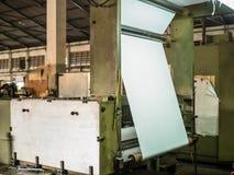 Moinho do papel e de polpa Imagens de Stock