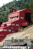 Moinho histórico da mina de ouro de Argo foto de stock