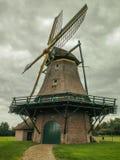 Moinho holandês Fotografia de Stock