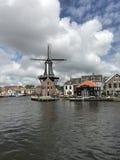 Moinho Países Baixos de Haarlem Fotografia de Stock