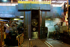 Moinho quente de alumínio Imagens de Stock