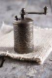 Moinho velho do moedor de pimenta Imagens de Stock