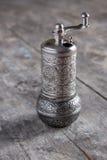 Moinho velho do moedor de pimenta Imagens de Stock Royalty Free