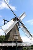 Moinho velho em Sloten, Holland do trigo Fotos de Stock