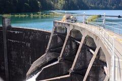 Moinhos da represa e do lago da garganta de Glines Foto de Stock Royalty Free