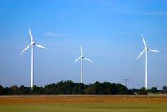 Moinhos de vento 1 foto de stock