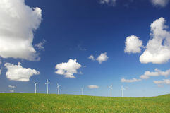 Moinhos de vento Imagem de Stock Royalty Free