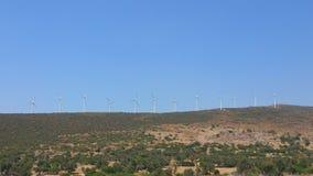 Moinhos de vento Fotos de Stock