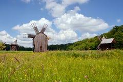 Moinhos de vento Fotografia de Stock Royalty Free