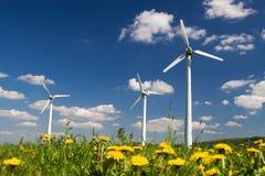 Moinhos de vento Imagem de Stock