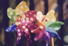Moinhos de vento de Childs Imagem de Stock