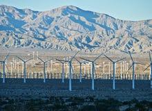 Moinhos de vento de Coachella Valley Fotografia de Stock Royalty Free