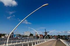 Moinhos de vento de Holland Fotos de Stock