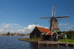 Moinhos de vento de Holland Imagem de Stock