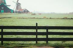Moinhos de vento de Zaanse Schans fotos de stock royalty free