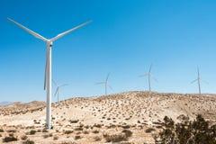 Moinhos de vento - energias eólicas foto de stock
