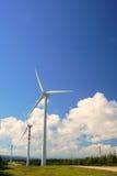 Moinhos de vento, Eolic. Imagem de Stock