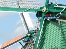 Moinhos de vento holandeses Imagem de Stock Royalty Free