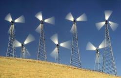Moinhos de vento II Fotos de Stock