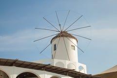 moinhos de vento típicos da região Imagem de Stock