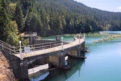 Moinhos do lago e represa da garganta de Glines Fotografia de Stock Royalty Free