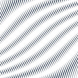 Moire pattern, monochrome background with trance effect. Optical Royalty Free Stock Photos