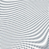 Moire pattern, op art background. Hypnotic backdrop with geometr Royalty Free Stock Photo