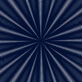 Moire pattern, op art background. Hypnotic backdrop with geometr Stock Images