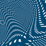 Moire pattern, op art background. Hypnotic backdrop, geometrc Royalty Free Stock Photos