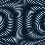 Moire pattern, op art background. Hypnotic backdrop  Stock Image