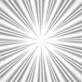 Moire pattern, op art background. Hypnotic vector backdrop with Royalty Free Stock Image