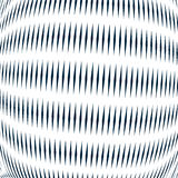 Moire pattern, op art background. Relaxing hypnotic backdrop wit Stock Image