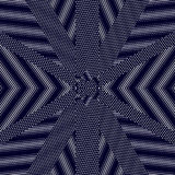 Moire pattern, op art vector background. Hypnotic backdrop with Stock Photo