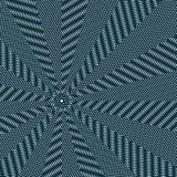 Moire pattern, op art vector background. Relaxing hypnotic Royalty Free Stock Photos