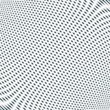 Moire style, vector optical pattern, motion effect tile. Decorat Stock Images