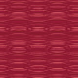 Moire waves on red background Royalty Free Stock Images