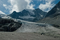 Moiry Glacier. This glacier is a 5 km long glacier situated in the Alps between 2400m and 3800m in the canton of Wallis in Switzerland Royalty Free Stock Photography