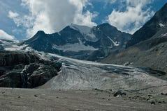 Moiry-Gletscher Lizenzfreie Stockfotografie