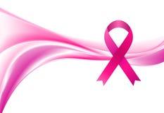 Mois de conscience de cancer du sein Lissez la vague et Photos stock