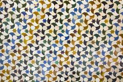 Moisaic в Alhambra, Гранада. Стоковые Изображения