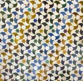 Moisaic em Alhambra, Granada. Foto de Stock Royalty Free