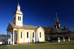 Moisei Monastery Stock Image