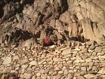 Moisey Mountain. Mountain Moisey in EGYPT. Height 3800m Royalty Free Stock Photo