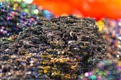 Moissanite kristaller Royaltyfria Bilder