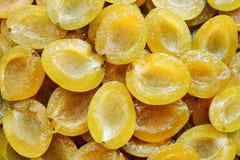Moisson d'été des plombs de jaune de chou Images stock