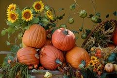 Moisson d'automne photographie stock