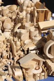 Moisson de bois de construction Photo libre de droits