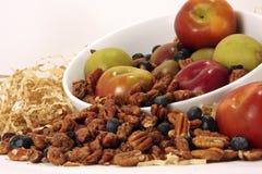 Moisson de noix de pécan d'Apple et de praline Photo stock